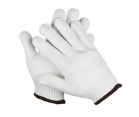 White Cotton Gloves 50 Pairs