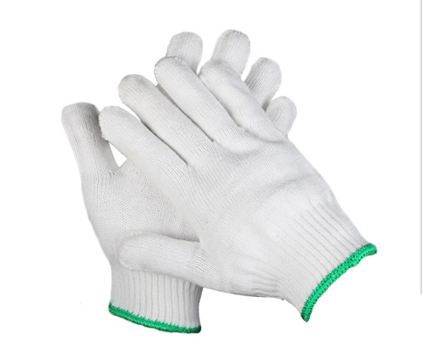 Thin White Cotton Gloves