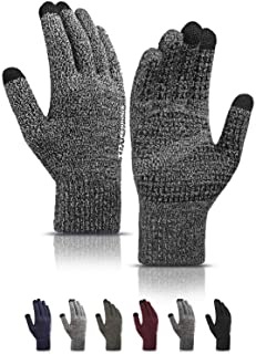Cotton Knitted Flannel Gloves