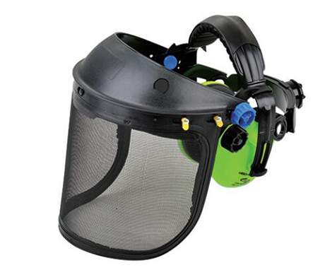 Face Shield With Ear Muffs