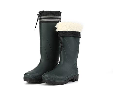 China Black Rain Boots