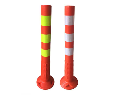 Elasticity Traffic reflective delineator post