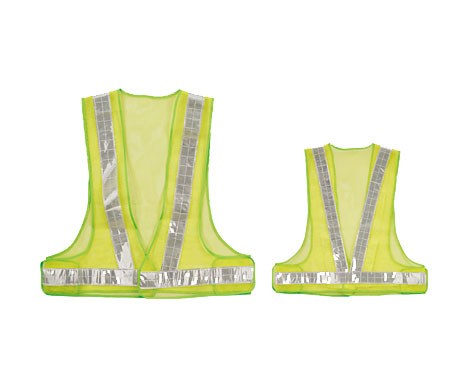Reflective Mesh Design Security Vests